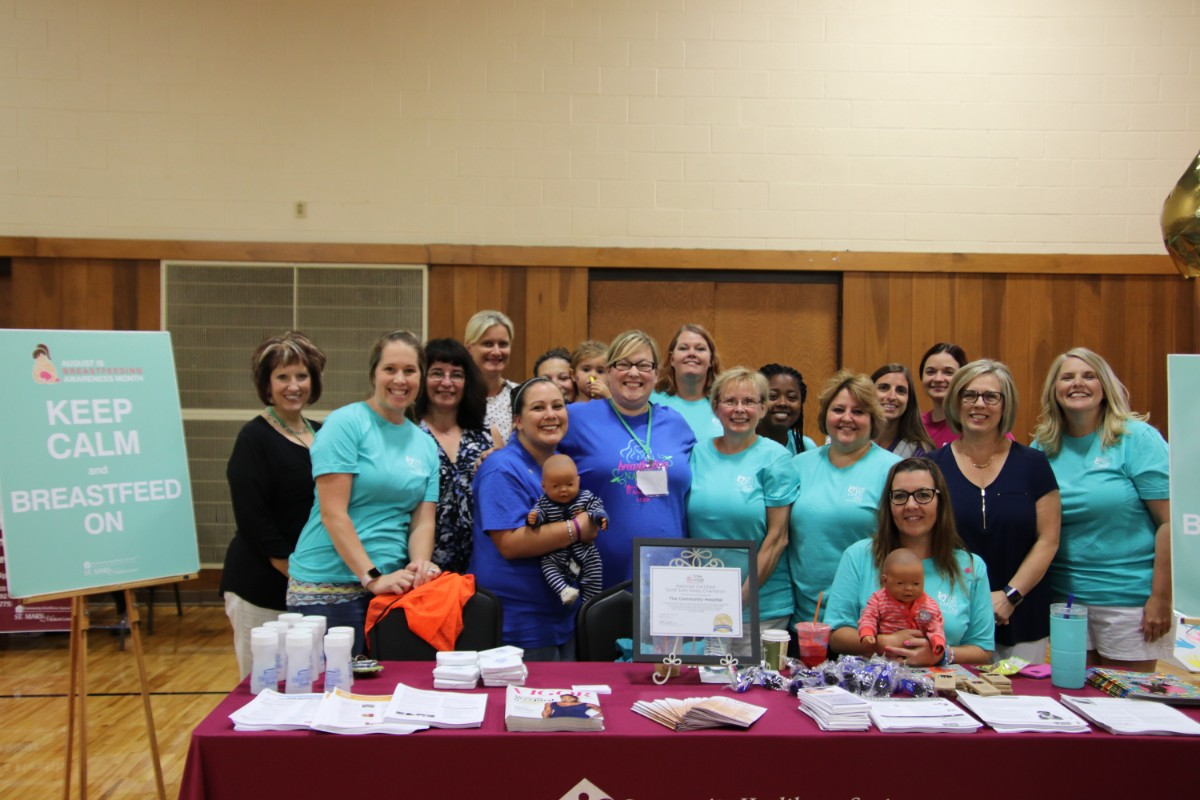 Community Healthcare System, Franciscan Health, and Lake County Organizations Educate Moms on the Importance and Normalcy of Breastfeeding at The Big Latch On