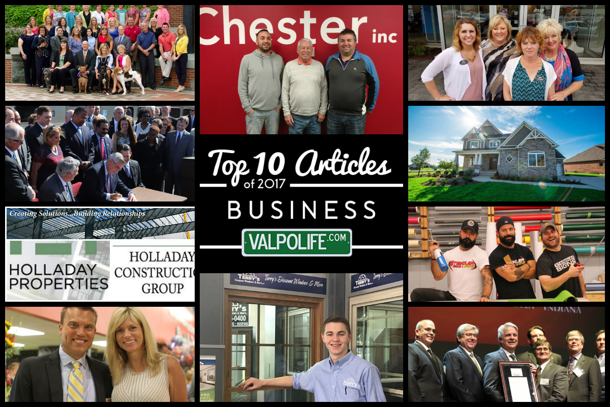 Top 10 Business Articles on ValpoLife from 2017