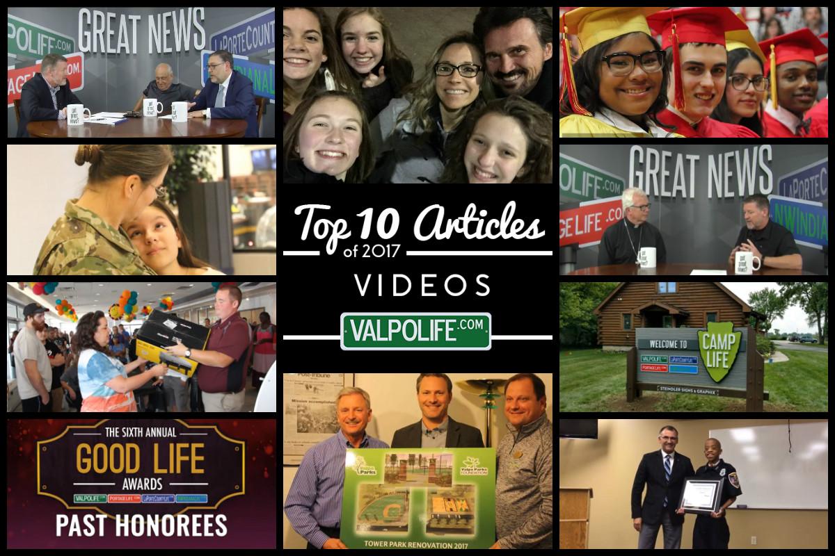 Top 10 Videos on ValpoLife in 2017