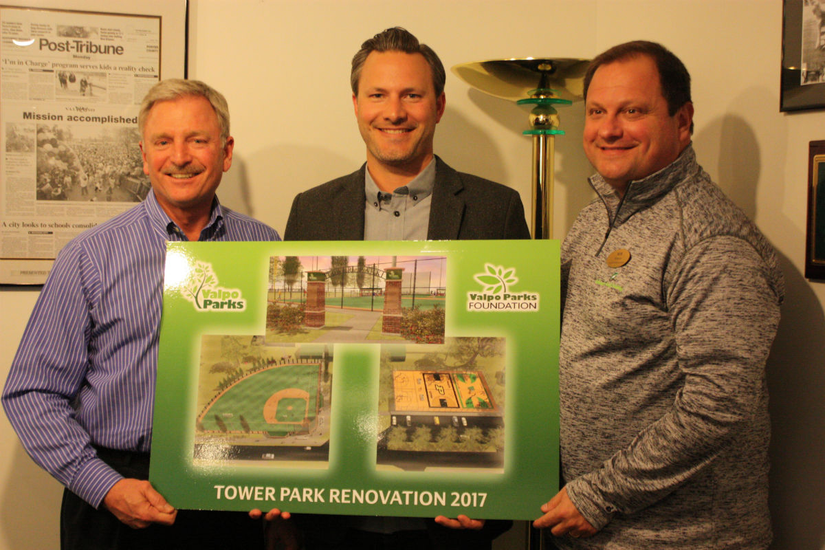 Local Leaders Giving Back With Tower Park Renovation