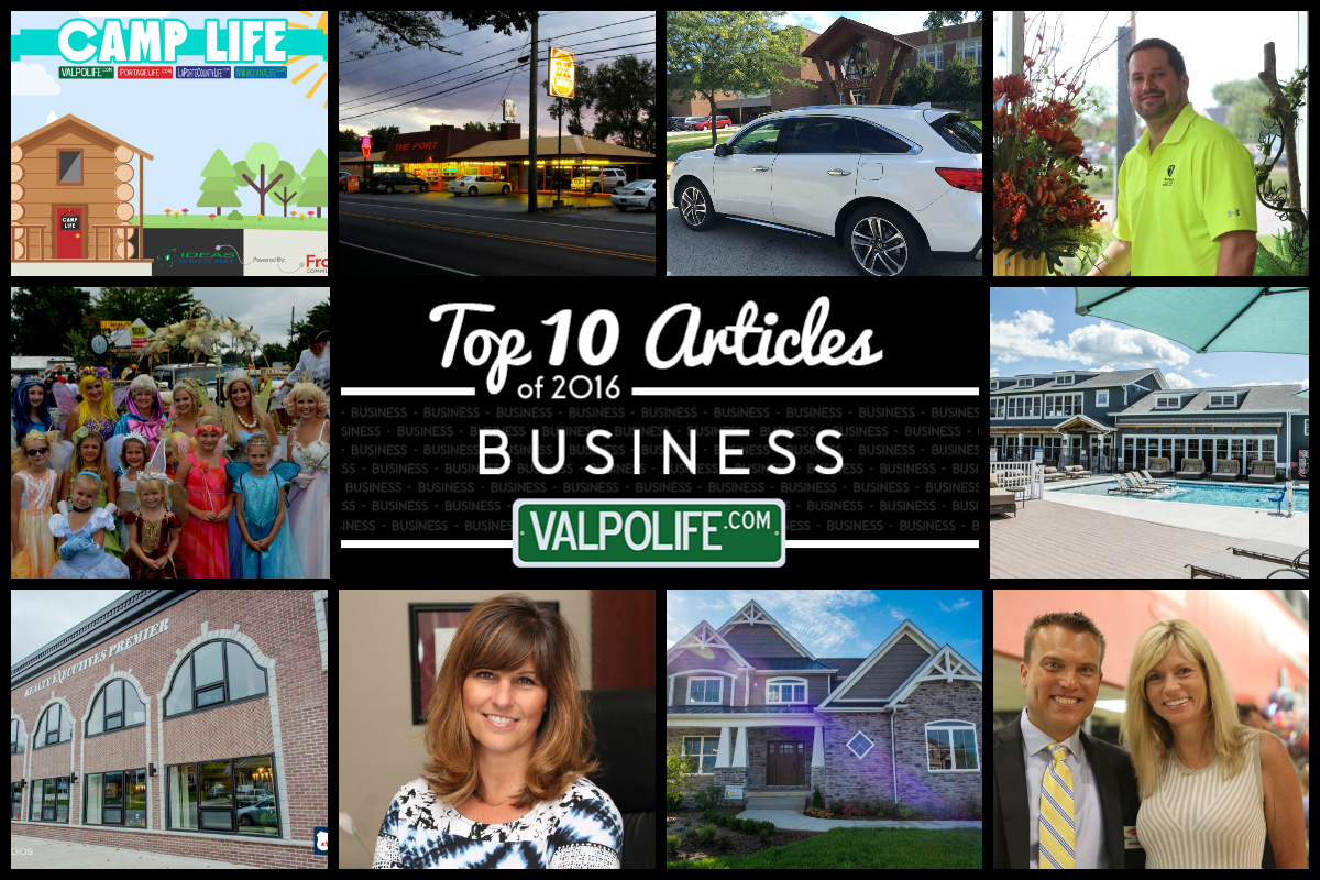 Top 10 Business Stories on ValpoLife in 2016
