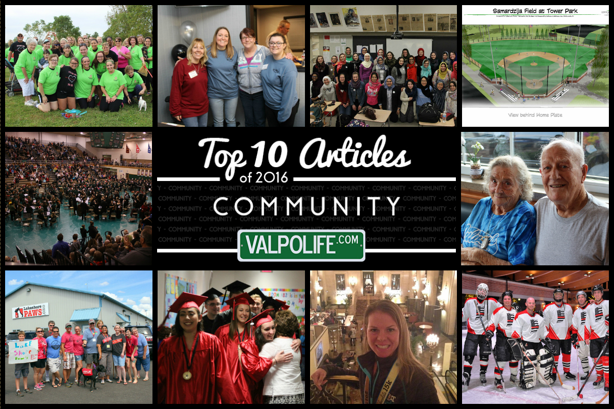 Top 10 Community Stories on ValpoLife in 2016