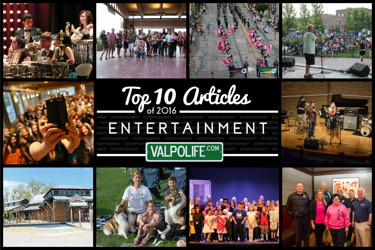 Top 10 Entertainment Stories on ValpoLife in 2016