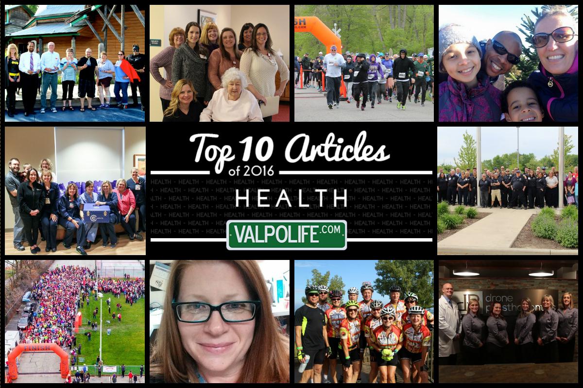 Top 10 Health Stories on ValpoLife in 2016