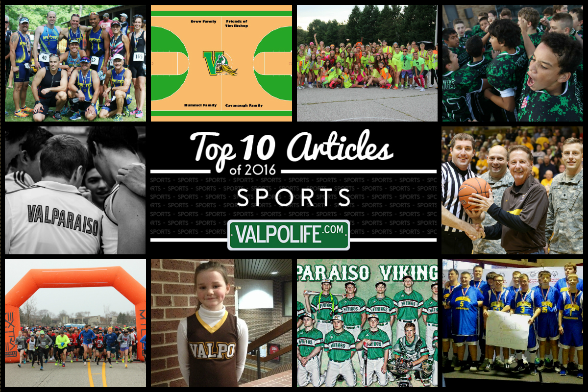 Top 10 Sports Stories on ValpoLife in 2016