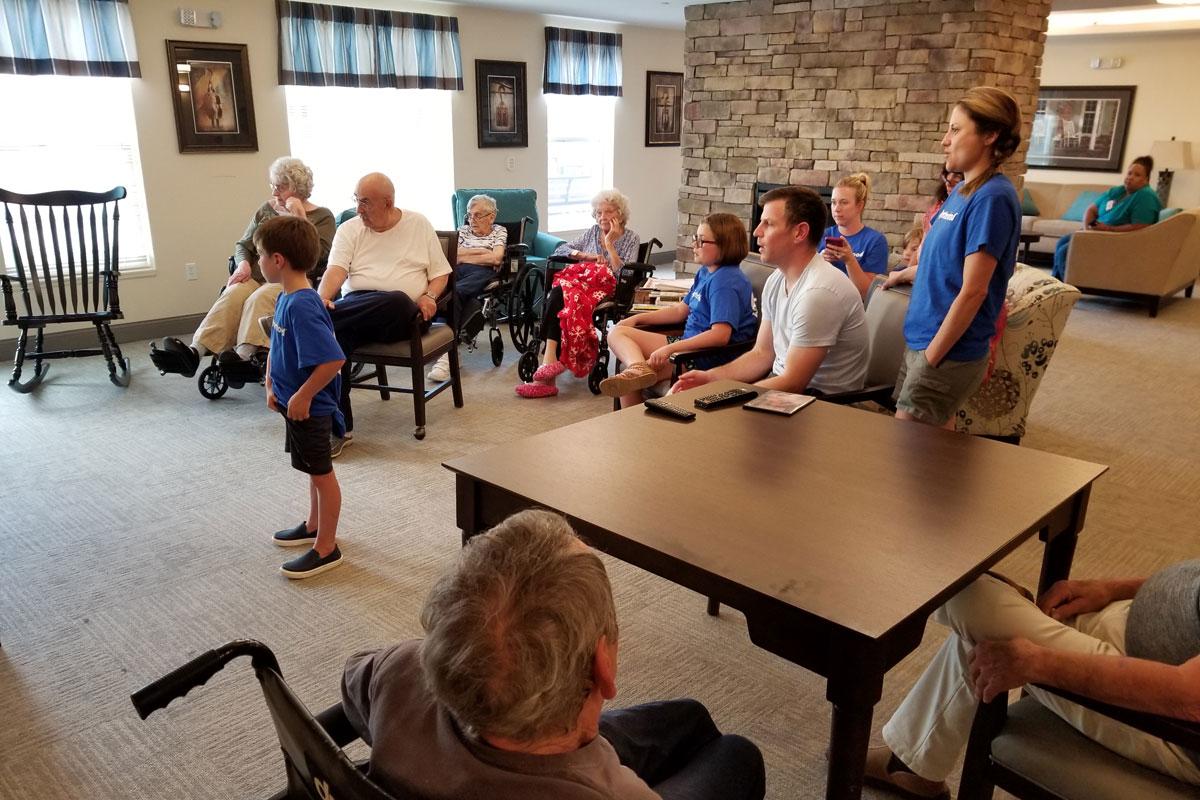 Valparaiso Family YMCA Togetherhood Volunteers Give Back
