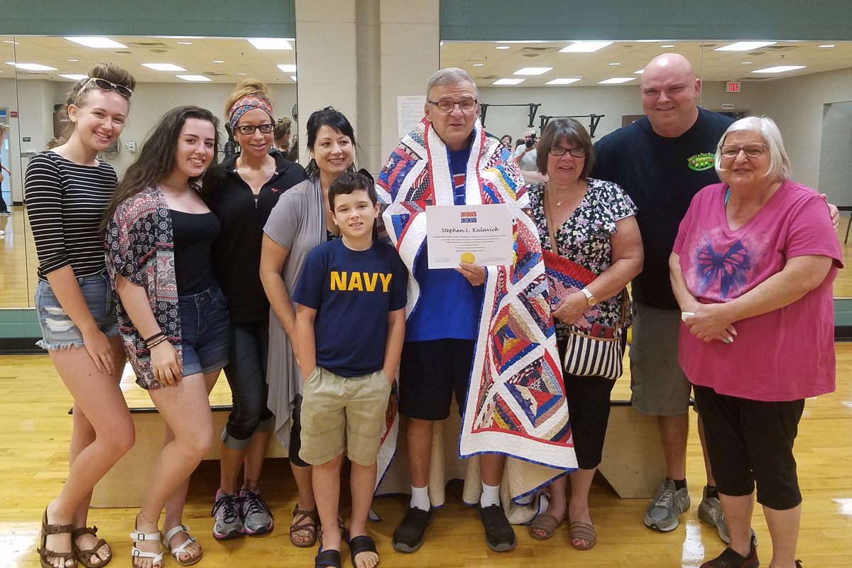 Valparaiso Veteran Honored with Quilt of Valor