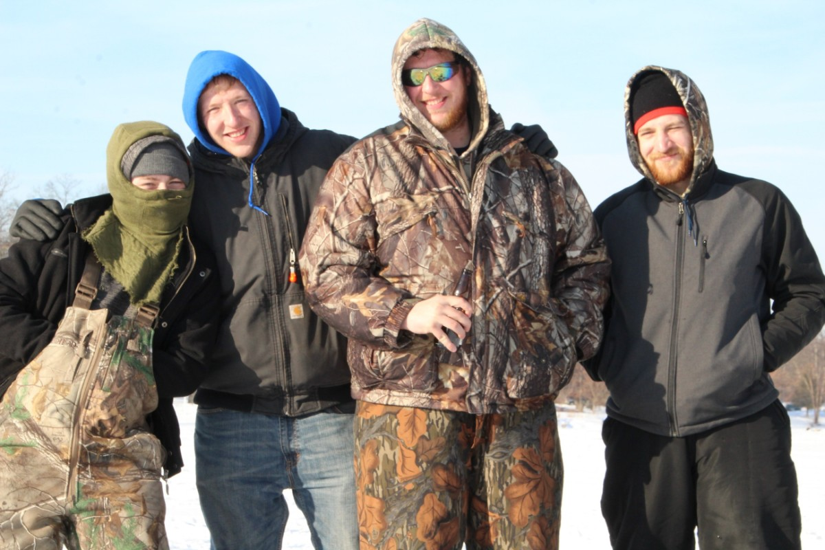 7th Annual Ice Derby Nets Biggest Group of Fishers Yet