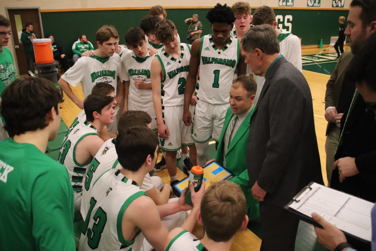Valpo Vikings Boys' Basketball Take a Win Over Strong Merillville Squad