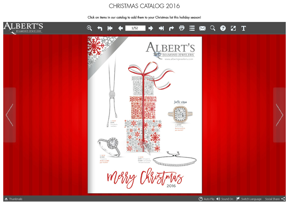 Albert's Diamond Jewelers Rocking the Holiday Shopping Season