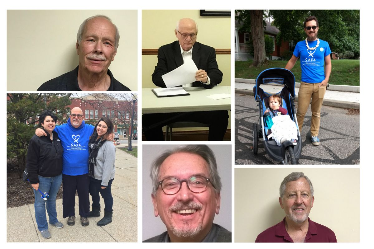 In Honor of Father's Day, We Hear from a Few Good Men of Porter County CASA