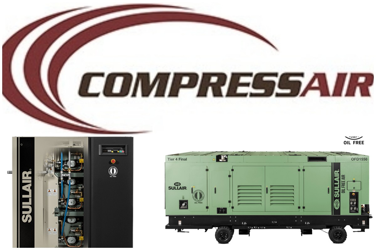 CompressAir: New Green & Oil-Free Machines