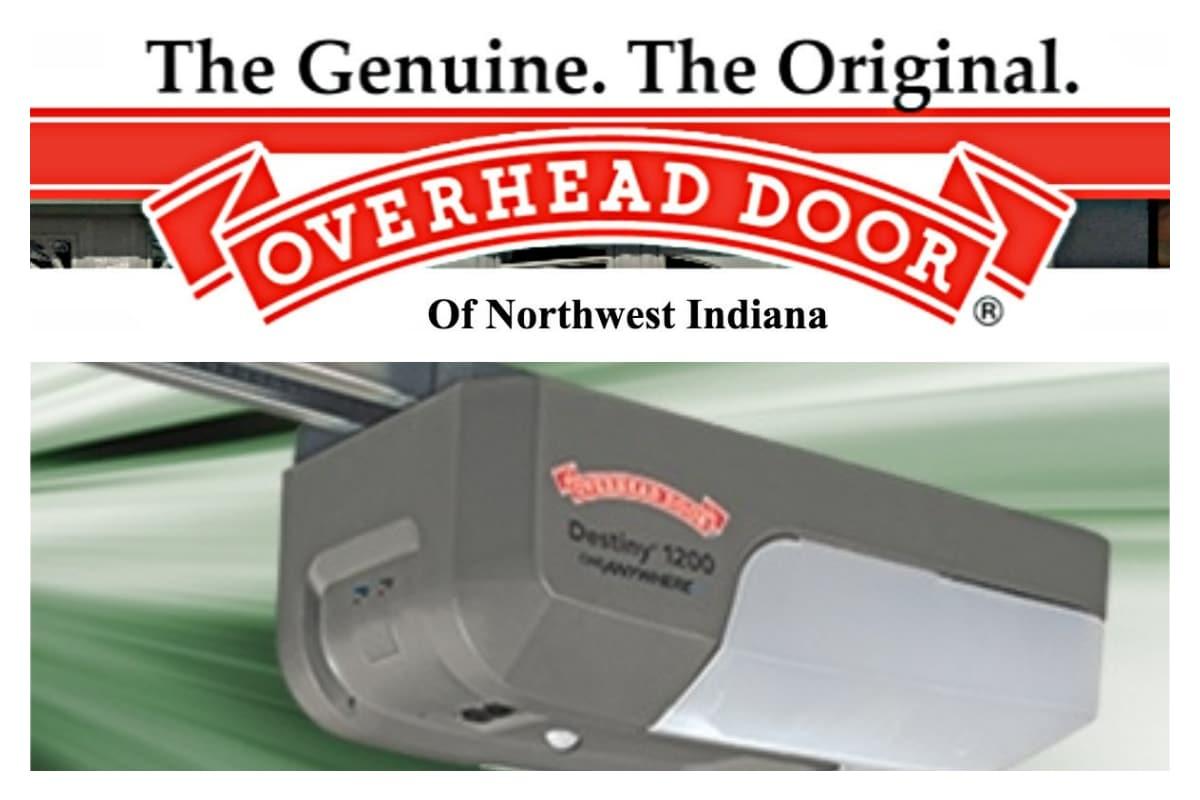 Overhead Door of Northwest Indiana offers special sale on innovative Destiny® 1200 garage door opener