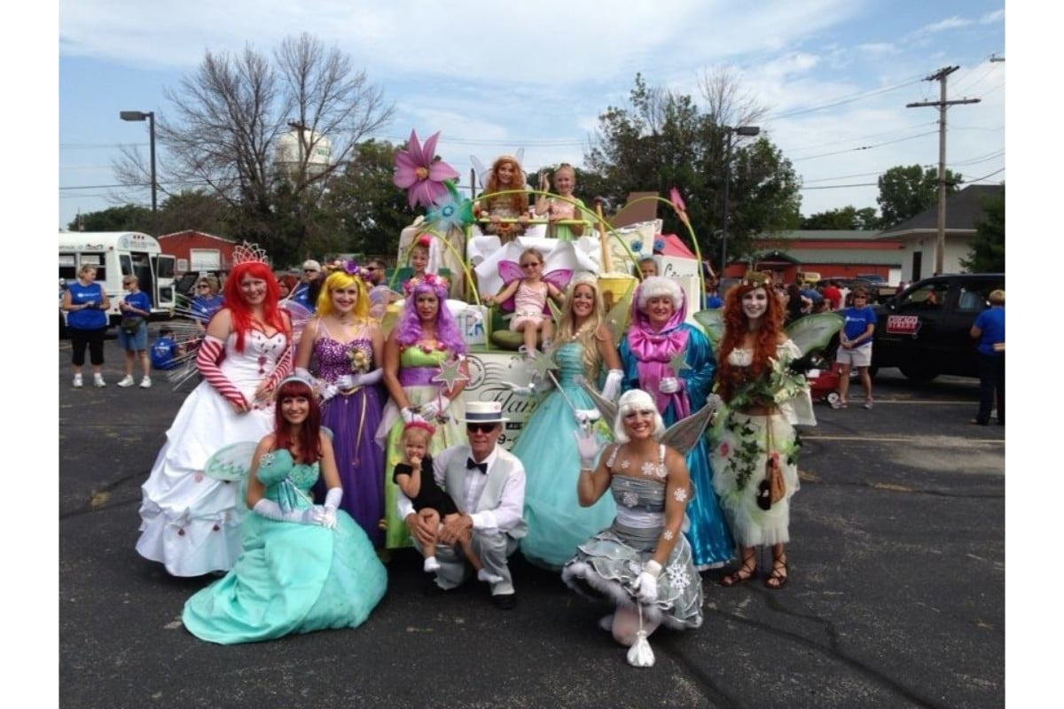 Flanagin's Bulk Mail Service Selects New Little Girl to Walk with Flanagin Fairies in Popcorn Fest