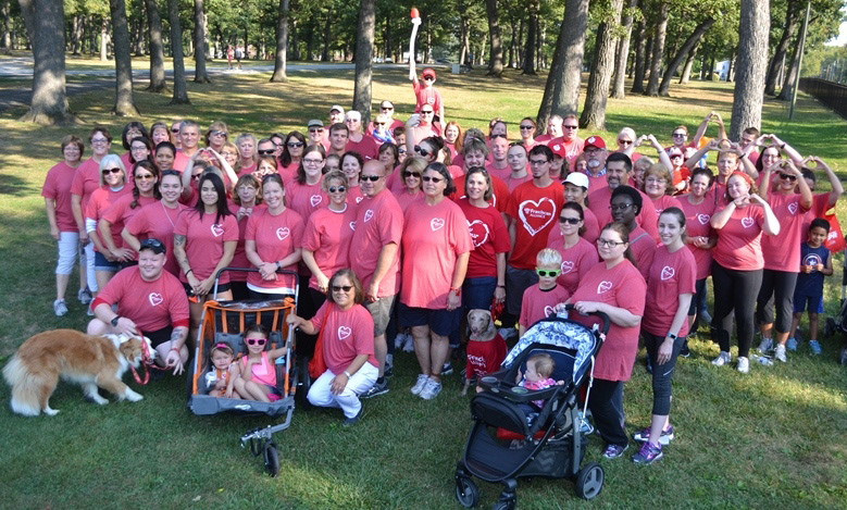 Franciscan Health Reps Walk the Walk to Fight Heart Disease