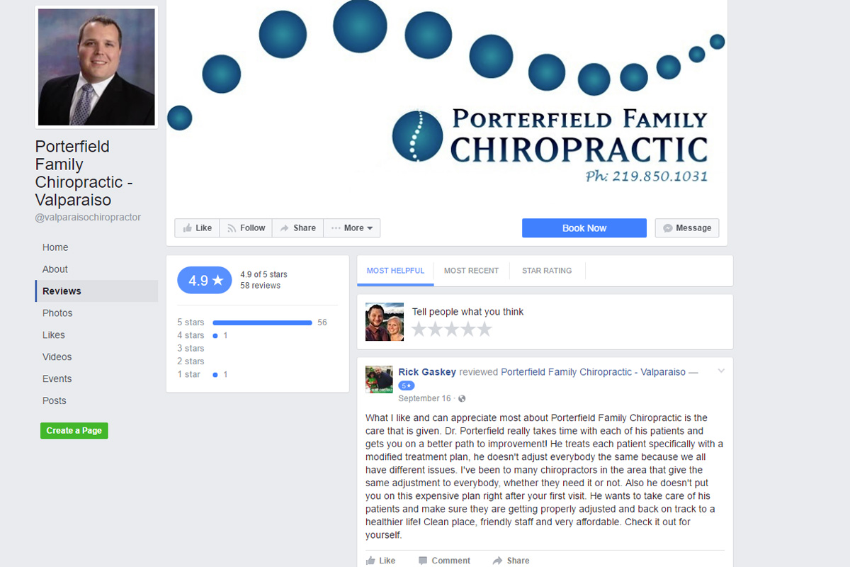 Who Loves Porterfield Family Chiropractic?