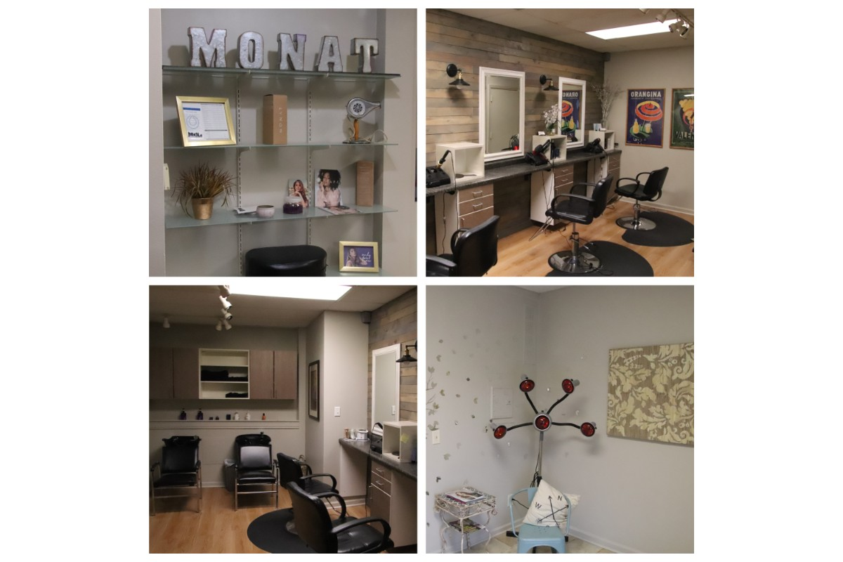 Modern booth space available for Valparaiso stylists