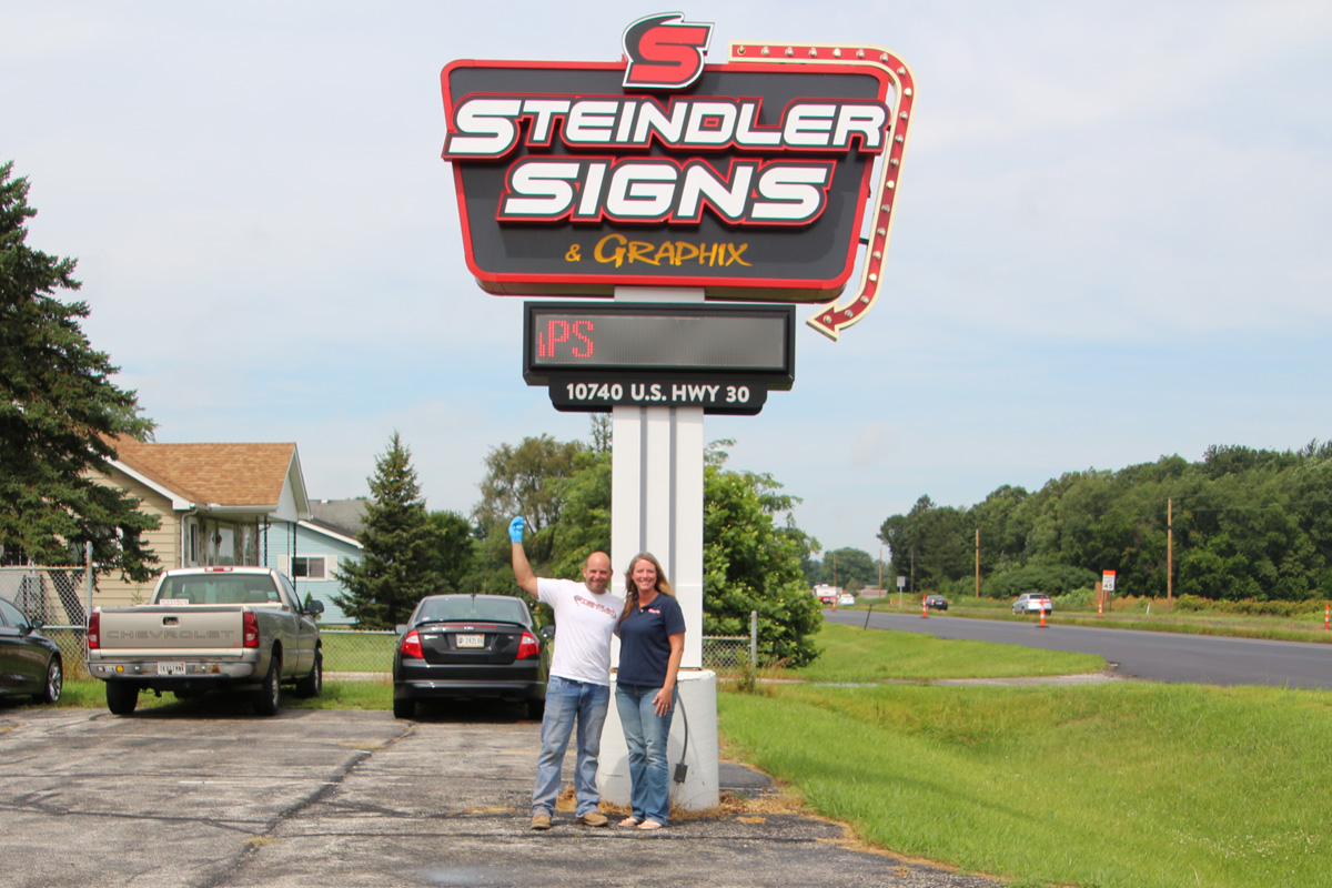 Steindler Signs Looks Back on 10 Years Serving Northwest Indiana